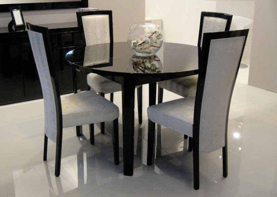 Inspiring Black Extendable Dining Table And Chairs 68 With For Most Recent Black Extendable Dining Tables Sets (View 3 of 20)