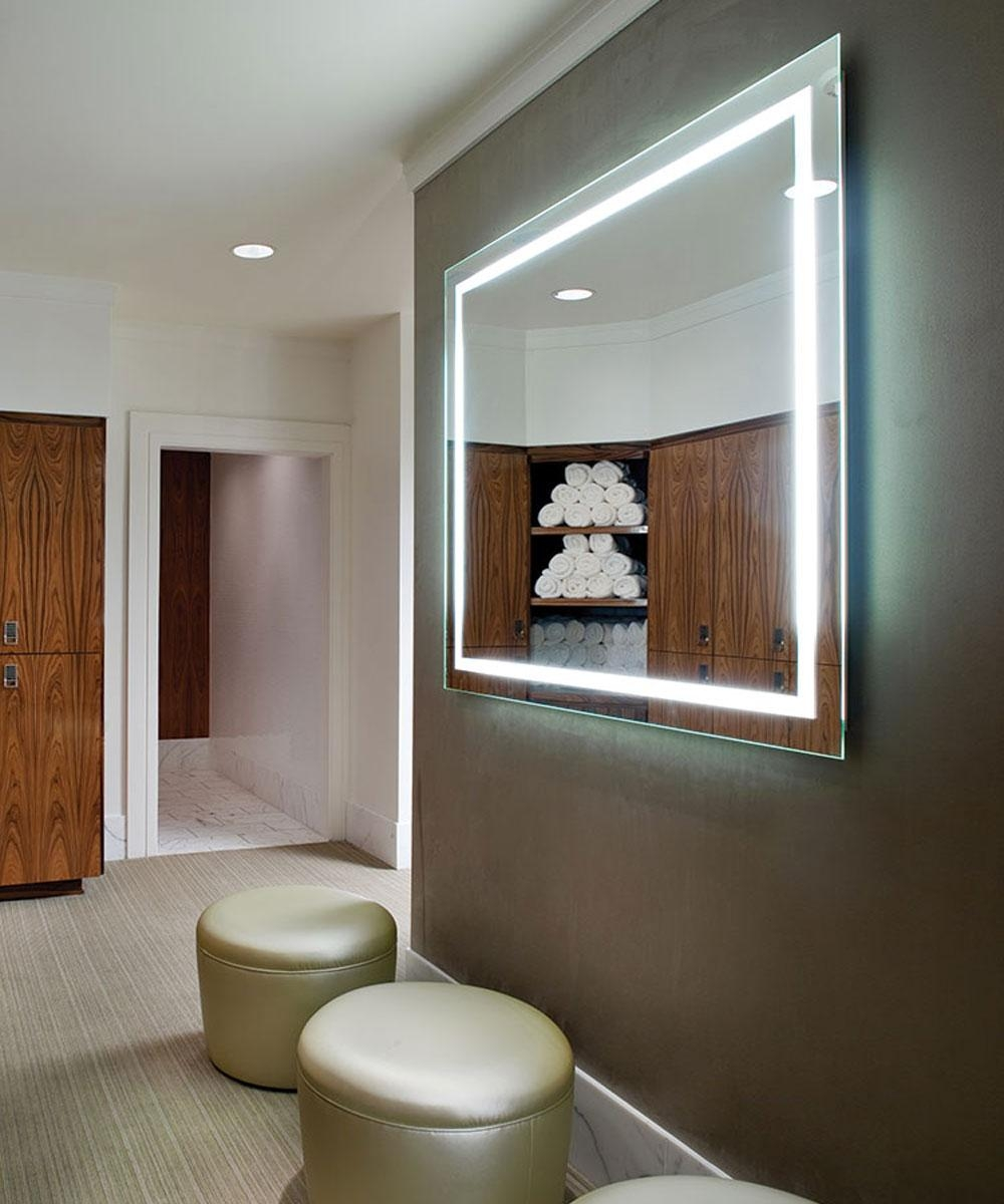 Integrity Lighted Mirror – Electric Mirror In Las Vegas Mirrors (Image 15 of 20)