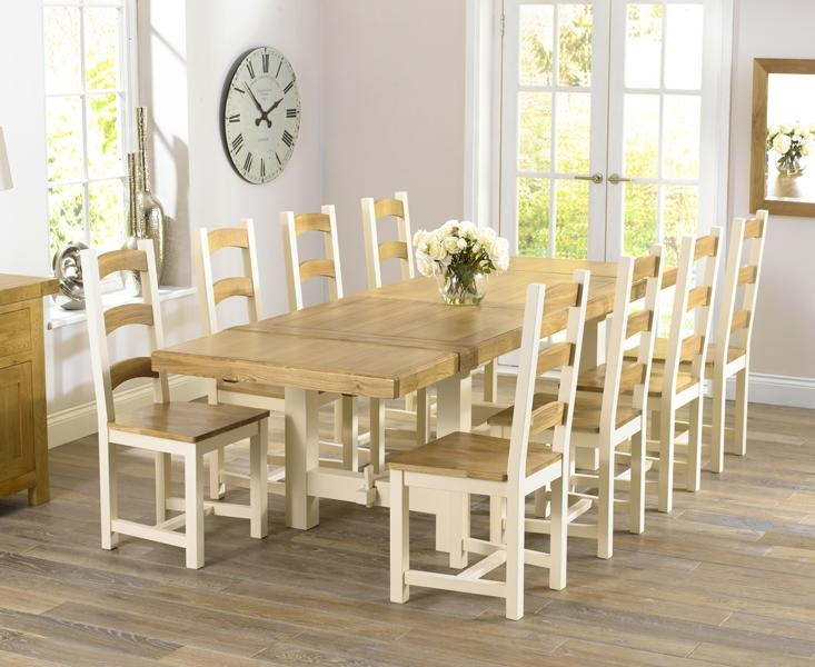 Interesting Design Cream Dining Table Stylist Cream Dining Tables Intended For Newest Cream And Oak Dining Tables (View 11 of 20)