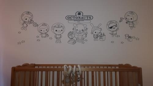 Interior Vinyl Designs Rohilla Close, Whitby, North Yorkshire Throughout Octonauts Wall Art (Image 11 of 20)