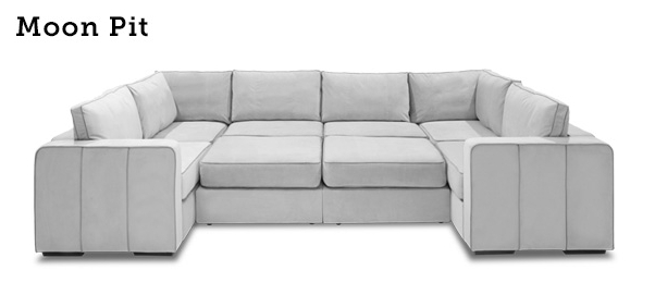 Introducing The Lovesac Moon Pit In Love Sac Sofas (Image 8 of 20)
