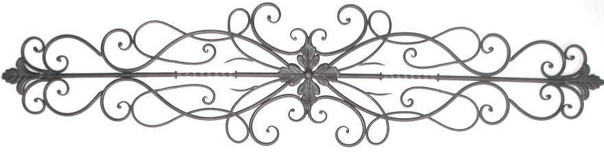 Iron Scroll Wall Art – Wall Art Design Pertaining To Iron Scroll Wall Art (Image 10 of 20)