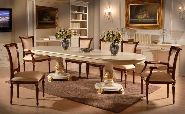 Italian Lacquered Dining Set – Traditional – Dining Room Inside 2017 Italian Dining Tables (Image 11 of 20)