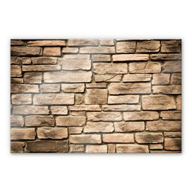 Italian Stone Wall – Kitchen Splashback – Wall Art Inside Italian Stone Wall Art (Image 14 of 20)