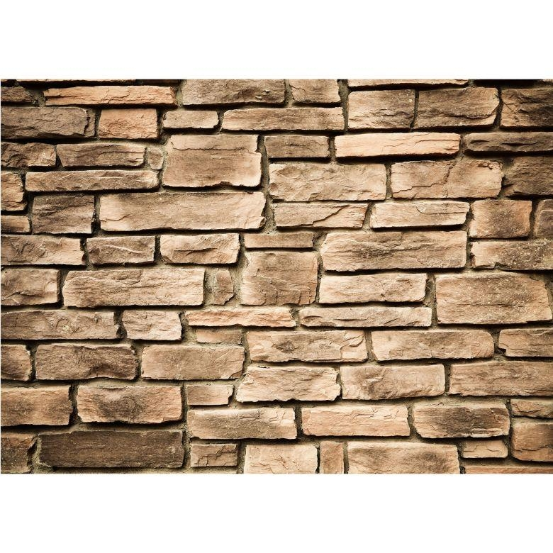 Italian Stonewall – Photo Wallpaper – Wall Art Throughout Italian Stone Wall Art (Image 18 of 20)