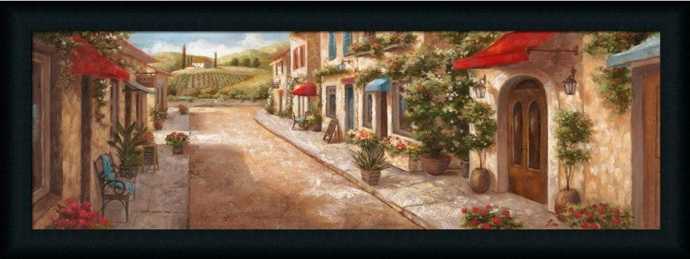 Italian Village Iinan – Art Print Framed & Unframed At Www Regarding Italian Village Wall Art (Image 11 of 20)