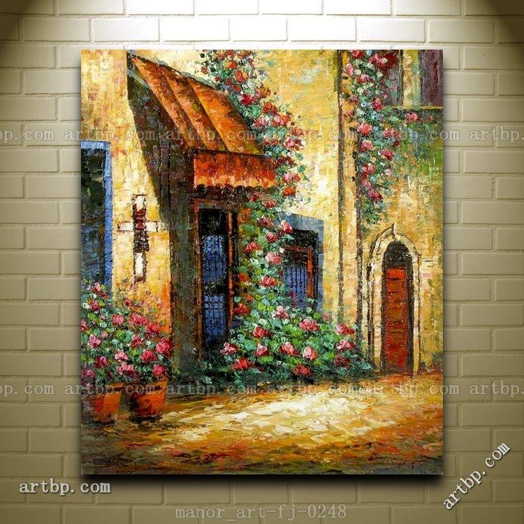 Italian Wall Art Canvas – Italy Canvas Art Prints | Italy Pertaining To Italian Scenery Wall Art (Image 16 of 20)