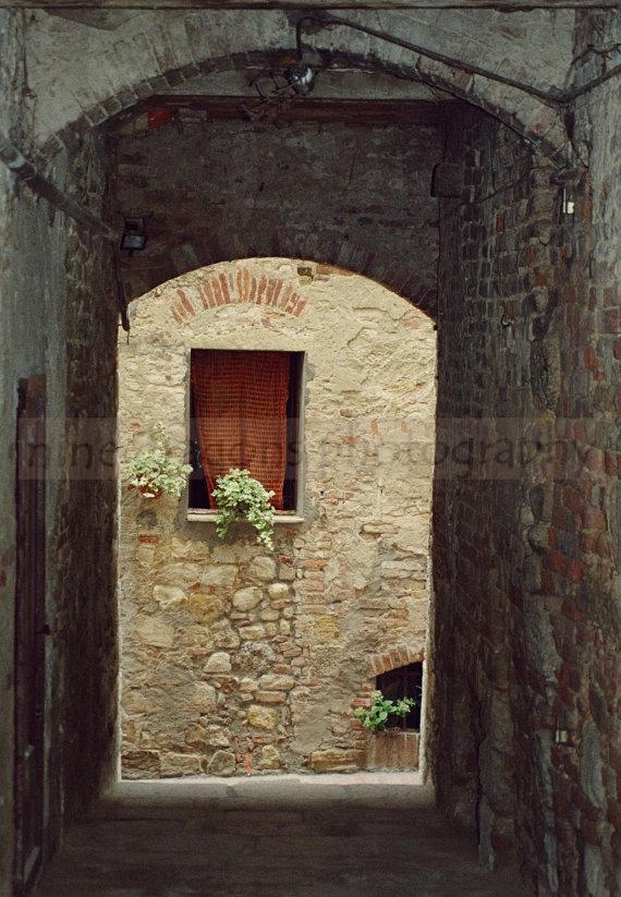 Italy Art Photo Rustic Italian Photography Window Wall Art In Italian Stone Wall Art (Image 19 of 20)