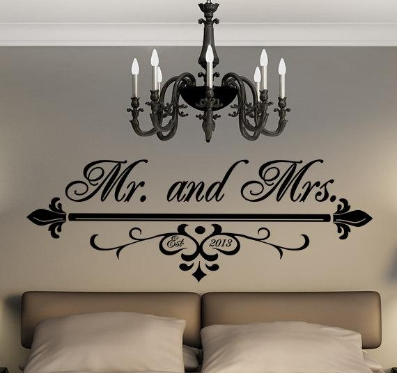 Featured Image of Mr And Mrs Wall Art