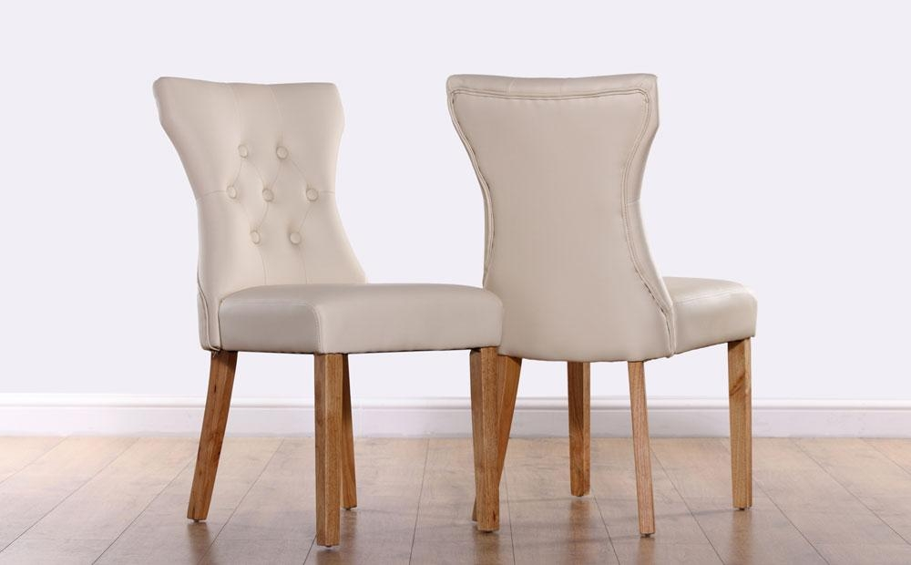 Ivory Leather Dining Room Chairs | Dining Chairs Design Ideas Intended For 2018 Ivory Leather Dining Chairs (View 6 of 20)