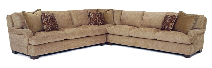 James Classic Collection 629/585 Arm Sectional Within Burton James Sectional Sofas (Image 17 of 20)