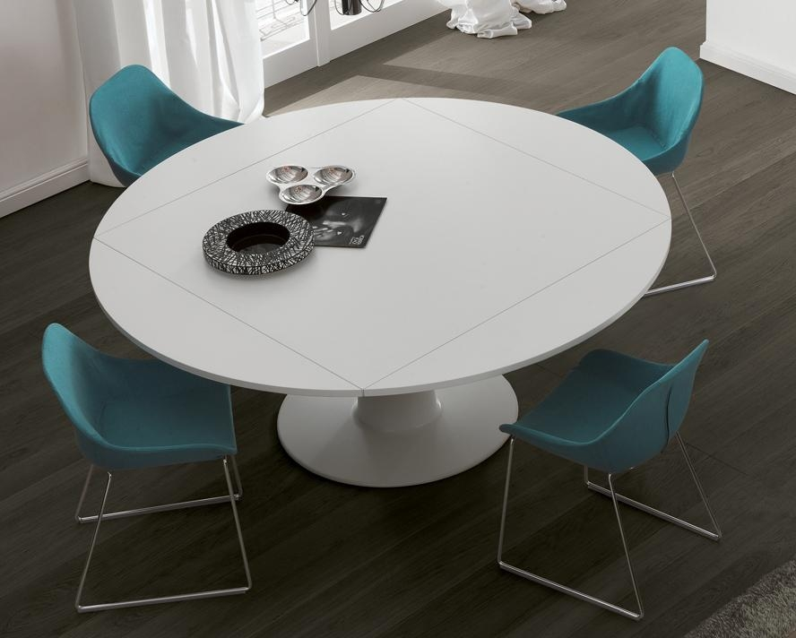 Jesse Moon Dining Table | Round Extending Dining Tables For Current White Round Extendable Dining Tables (Image 11 of 20)