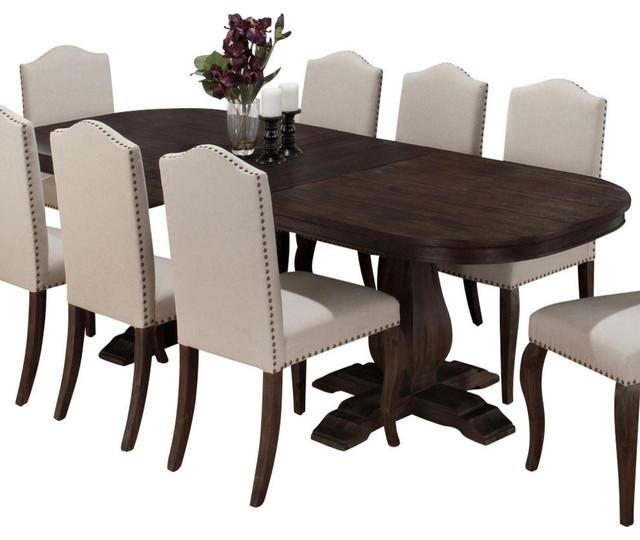 Jofran 634 102 Dining Table With Butterfly Leaf – Transitional With 2018 Dining Tables (Image 17 of 20)