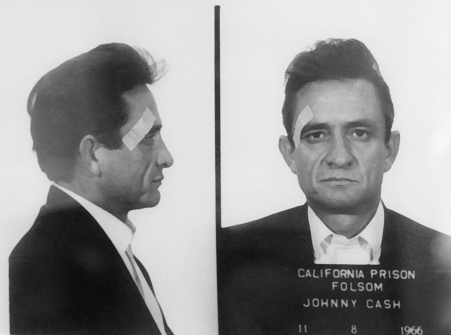 Johnny Cash Folsom Prison Large Canvas Art, Canvas Print, Large For Johnny Cash Wall Art (Image 10 of 20)