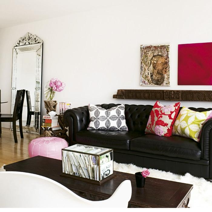 Just Chill & Be Relax On Luxury Leather Sofa Pertaining To Black Sofas Decors (Photo 19 of 20)