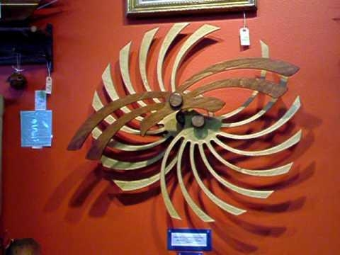 Kinetic Art Sculpturenick Diemel, Wall Motion Art – Youtube Pertaining To Kinetic Wall Art (Image 7 of 20)