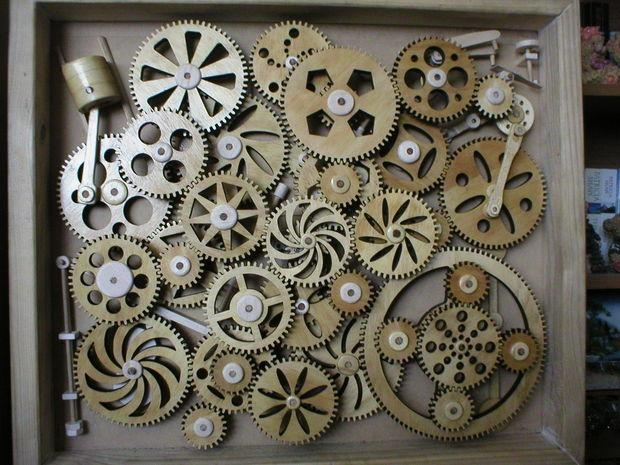 Kinetic Wall Sculptures – Dizzy (Image 12 of 20)