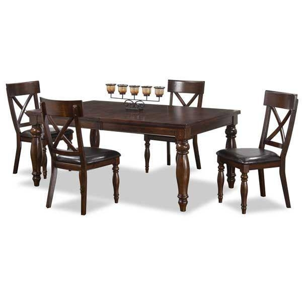 Kingston 5 Piece Dining Set Kg 5Pc Intercon Kg 4290/chr(4) | Afw Inside Most Popular Kingston Dining Tables And Chairs (Image 8 of 20)