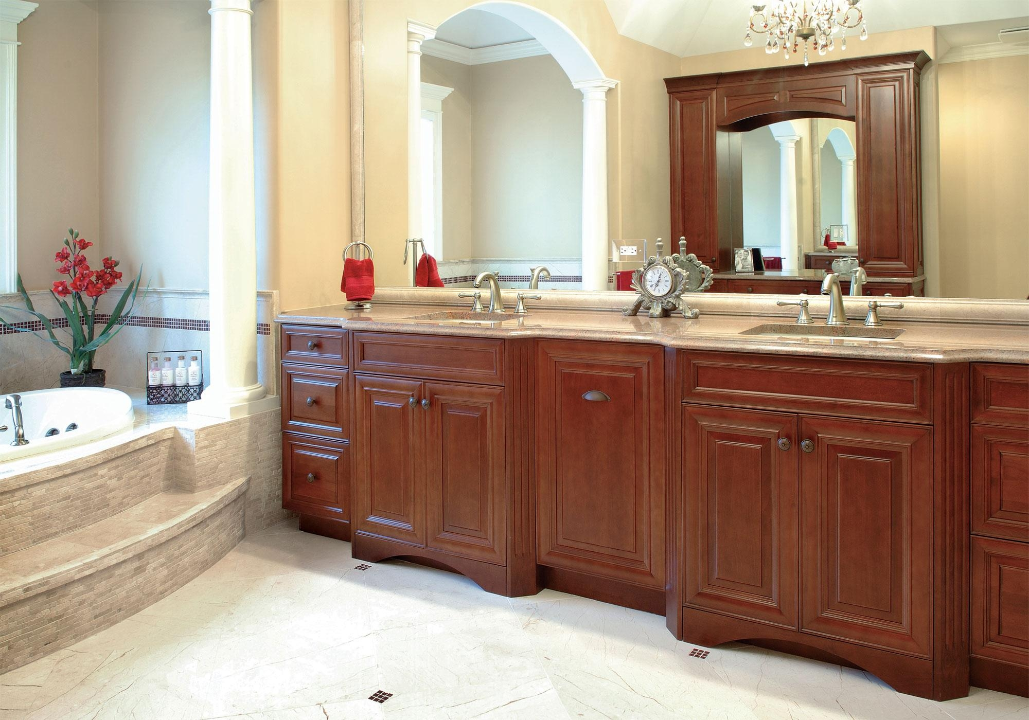 Kitchen Cabinets & Bathroom Vanity Cabinets – Advanced Cabinets Within Custom Bathroom Vanity Mirrors (Image 18 of 20)