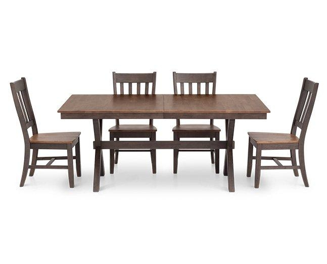 Kitchen & Dining Furniture | Furniture Row Inside Most Recent Hudson Dining Tables And Chairs (View 20 of 20)