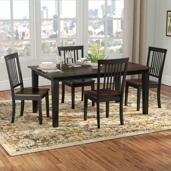 Kitchen & Dining Room Sets You'll Love In Dining Tables And Chairs Sets (View 6 of 20)