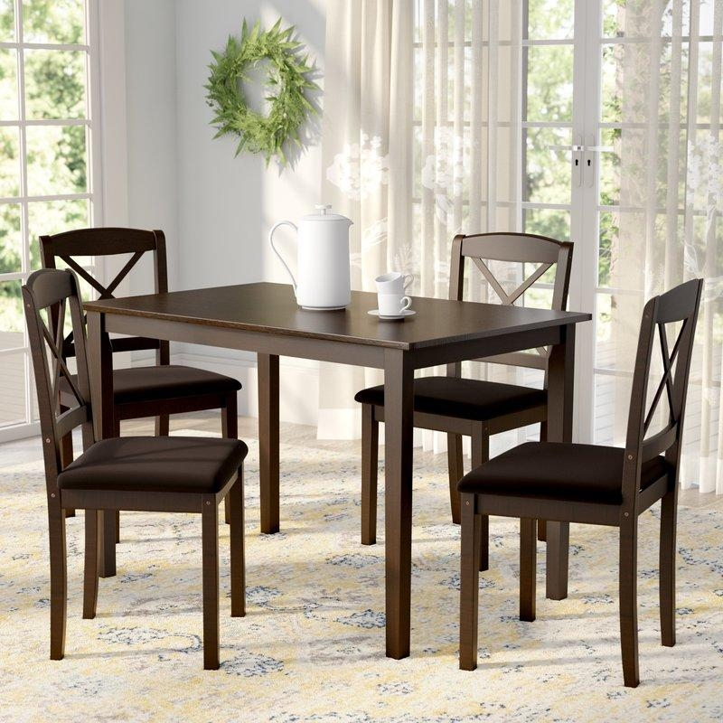 Kitchen & Dining Room Sets You'll Love Pertaining To Dining Tables And Chairs Sets (View 18 of 20)