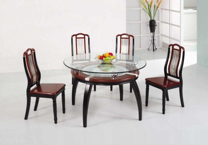 Kitchen : Fabulous Dining Furniture Sets 3 Piece Dining Set Modern Pertaining To Most Popular Modern Dining Suites (Image 14 of 20)