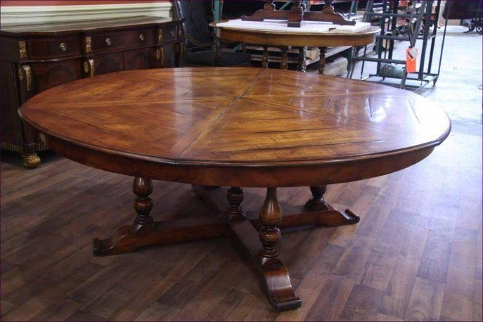 Kitchen Room : Dining Furniture Stores Big Round Kitchen Table Throughout Latest Mahogany Dining Tables And 4 Chairs (View 18 of 20)