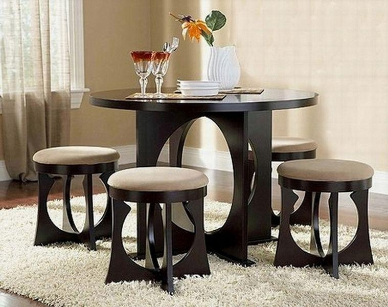 Kitchen Sets Best Dining Room Table For Small Space Most Forward Within Compact Dining Tables And Chairs (Image 13 of 20)