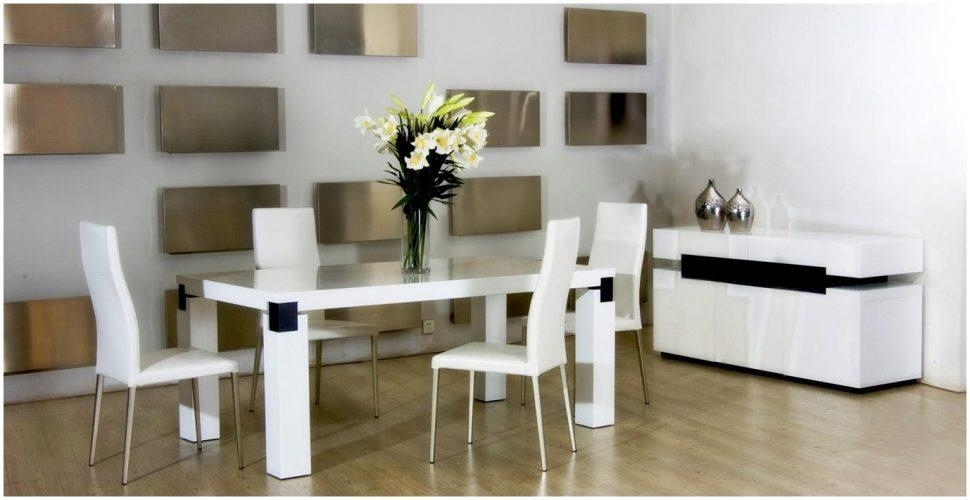 Kitchen : Wonderful Modern Dining Furniture Dining Table With Regarding Latest Modern Dining Suites (View 9 of 20)