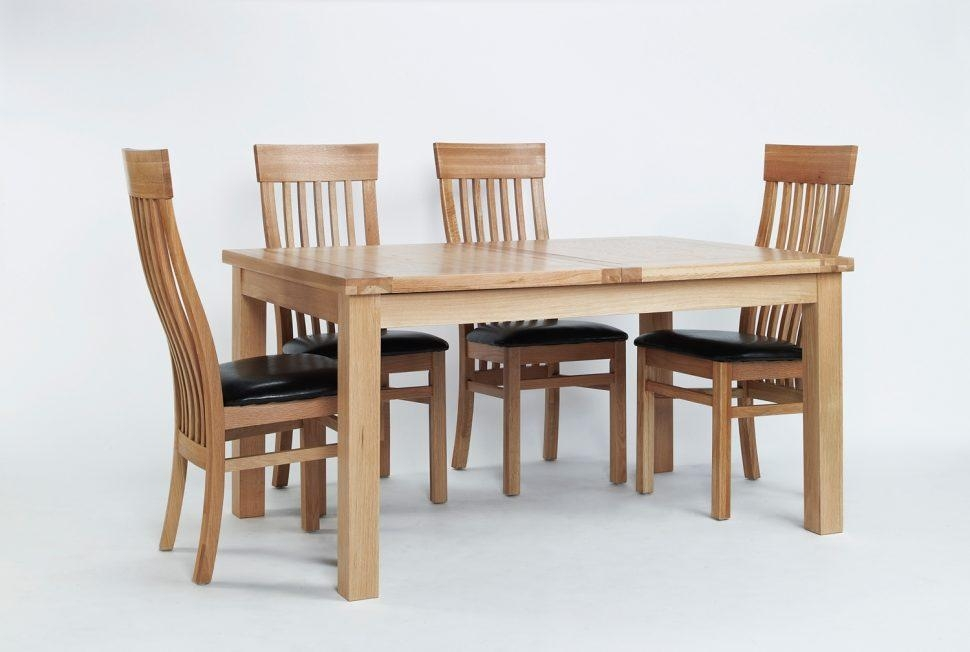 Kitchen : Wonderful Oak Dining Room Table 6 Chair Dining Table With Most Current Light Oak Dining Tables And 6 Chairs (Image 13 of 20)