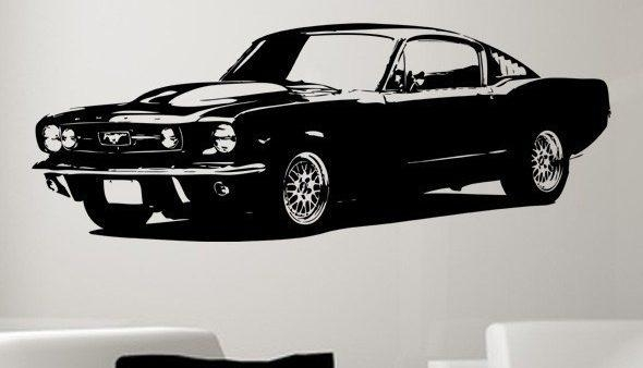 Kryplos | Wall Art Design Ideas – For Ford Mustang Metal Wall Art (Image 17 of 20)