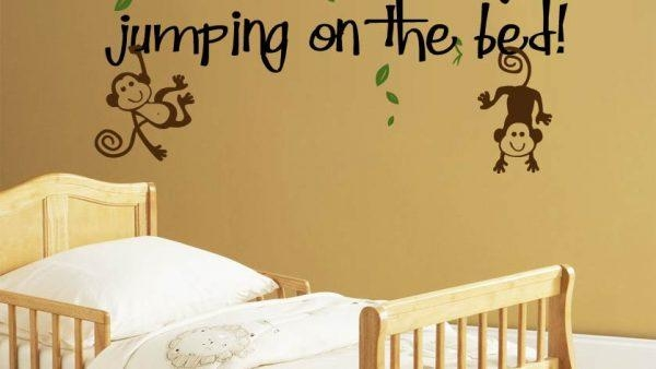 20 Inspirations No More Monkeys Jumping on the Bed Wall Art | Wall ...