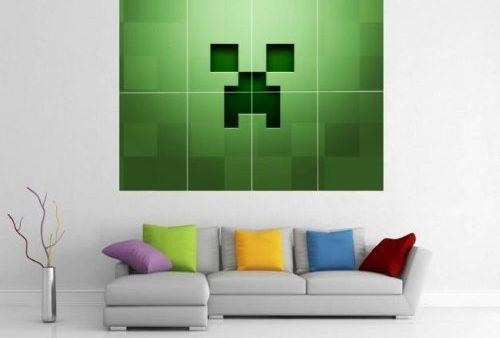Kryplos | Wall Art Design Ideas – Within Minecraft Wall Art Uk (View 13 of 20)