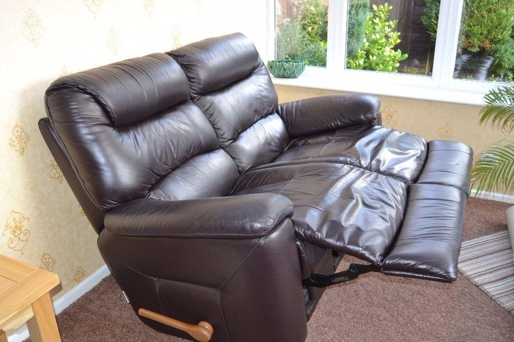La Z Boy Lazy Boy Manhattan 2 Seater Sofa Manual Recliner & 2 With Lazy Boy Manhattan Sofas (View 4 of 20)