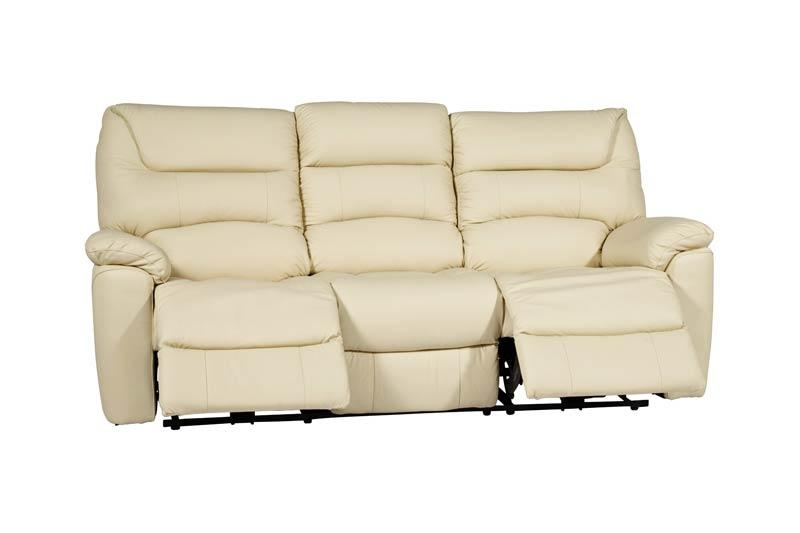 La Z Boy Manhattan 3 Seater Manual Recliner Sofa | Scs Pertaining To Lazy Boy Manhattan Sofas (View 13 of 20)