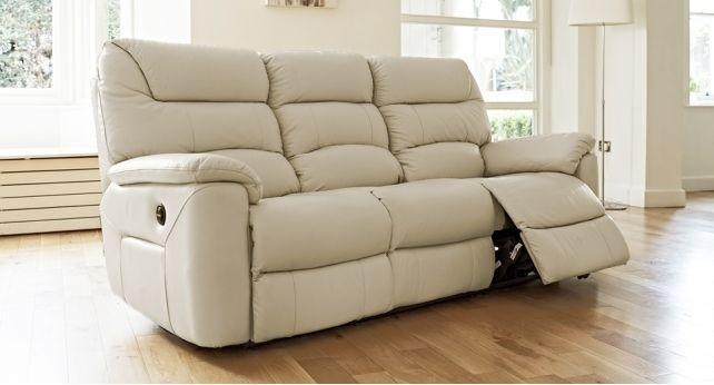 La Z Boy Manhattan 3 Seater Power Recliner Sofa | Living Room In Lazy Boy Manhattan Sofas (Image 10 of 20)