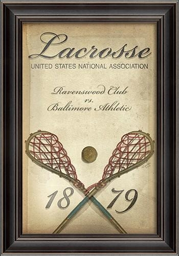 Lacrosse Framed Wall Artspicher And Company – Rosenberryrooms Within Lacrosse Wall Art (View 19 of 20)