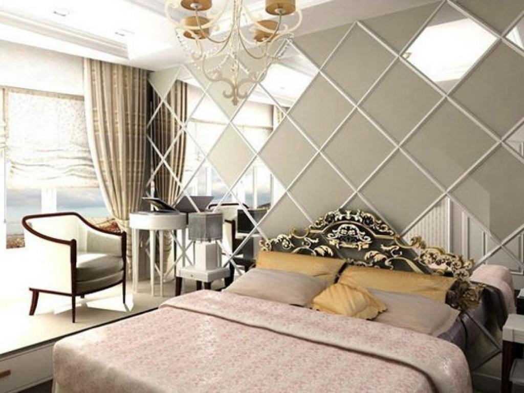 Large Decorative Mirrors Bedroom Wall Pertaining To Ceiling For