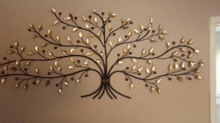 Large Metal Tree Wall Art — John Robinson House Decor : Charming Pertaining To Iron Tree Wall Art (Image 11 of 20)