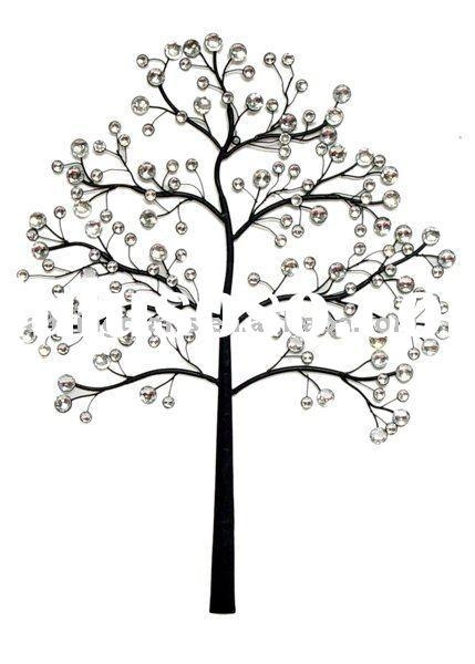 Large Metal Tree Wall Decoration | Roselawnlutheran In Windy Oak Tree Metal Wall Art (Image 8 of 20)