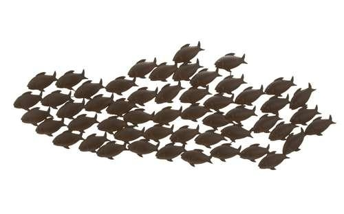 Featured Image of Metal School Of Fish Wall Art