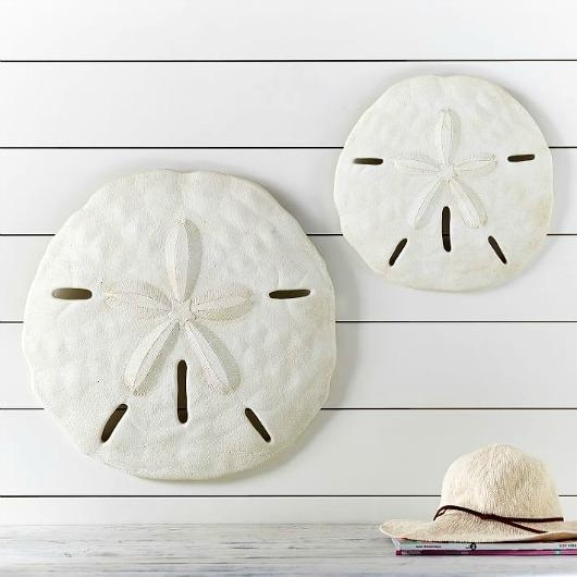 Large Starfish & Sand Dollar For Wall Decor – Completely Coastal Intended For Sand Dollar Wall Art (Image 8 of 20)