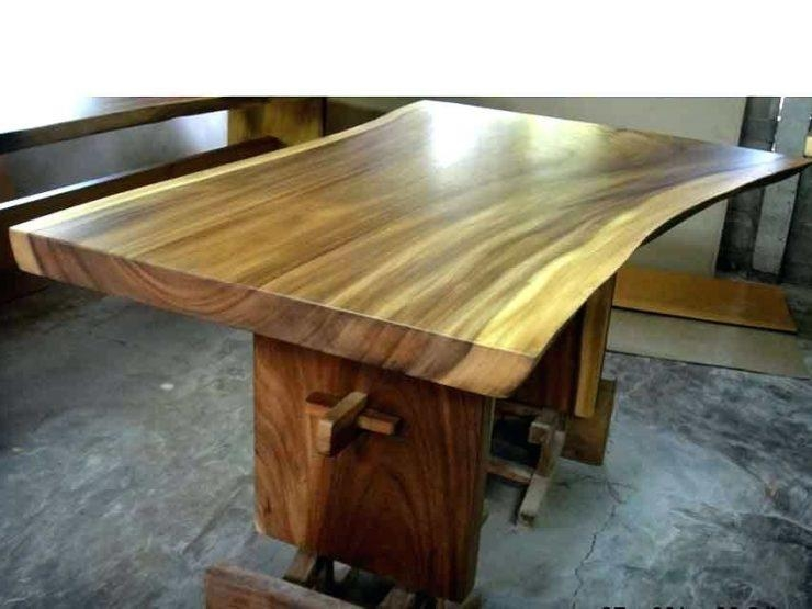 Large Wooden Dining Table – Mitventures (Image 14 of 20)