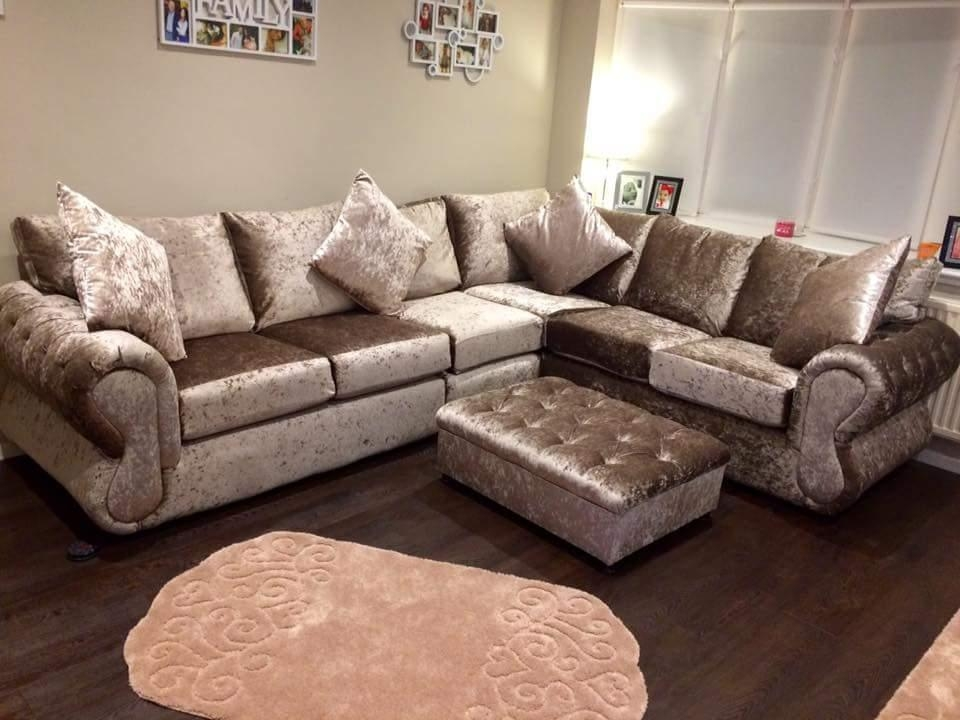 Leather Corner Sofas For Sale Uk | Hi5 Home Furniture – Hi 5 Home Intended For Corner Sofas (Image 14 of 20)