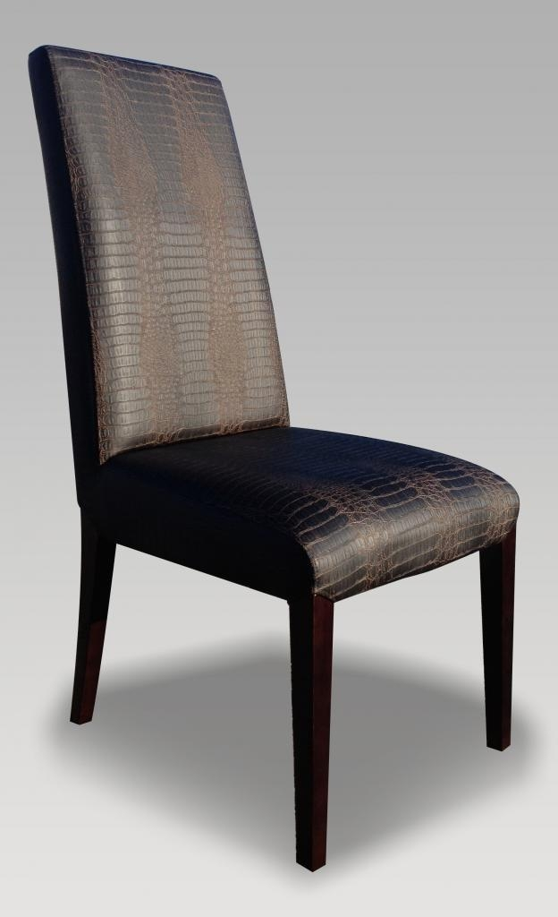 Leather High Back Dining Chairs – Island Kitchen Regarding High Back Leather Dining Chairs (Image 15 of 20)