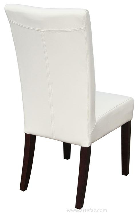 Leather Parson, Dining Room & Kitchen Chairs :: Top Grain Genuine Pertaining To Real Leather Dining Chairs (Image 10 of 20)
