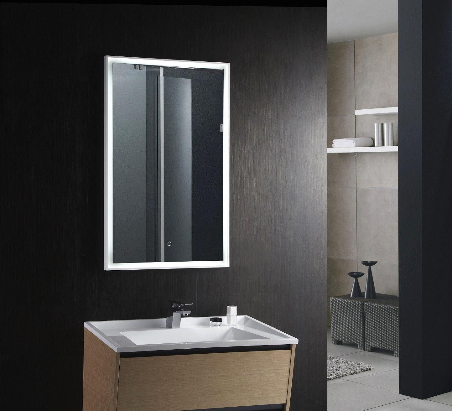 Led Lighted Mirrors Bathrooms | Lightings And Lamps Ideas For Led Lighted Mirrors (Image 14 of 20)