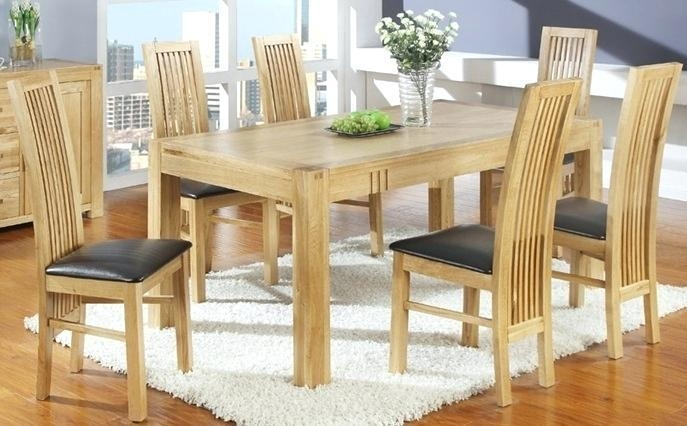 Light Oak Extending Dining Table And Chairs Ebay Nz Tables Uk 4 In 2018 Light Oak Dining Tables And Chairs (View 10 of 20)