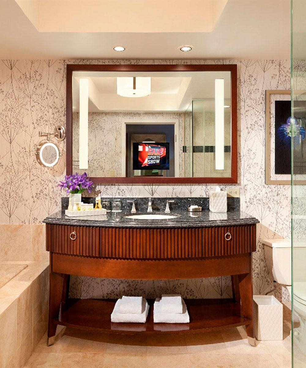 Lighted Mirror Tvs – Inside Las Vegas Mirrors (Photo 17 of 20)